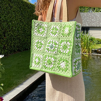 Summer Bag Granny Squares (kleiner formaat)
