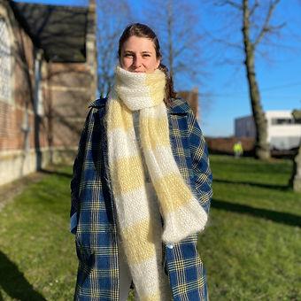 Mohair sjaal