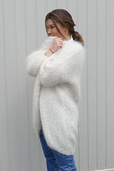 Bernadette Mohair lange vest