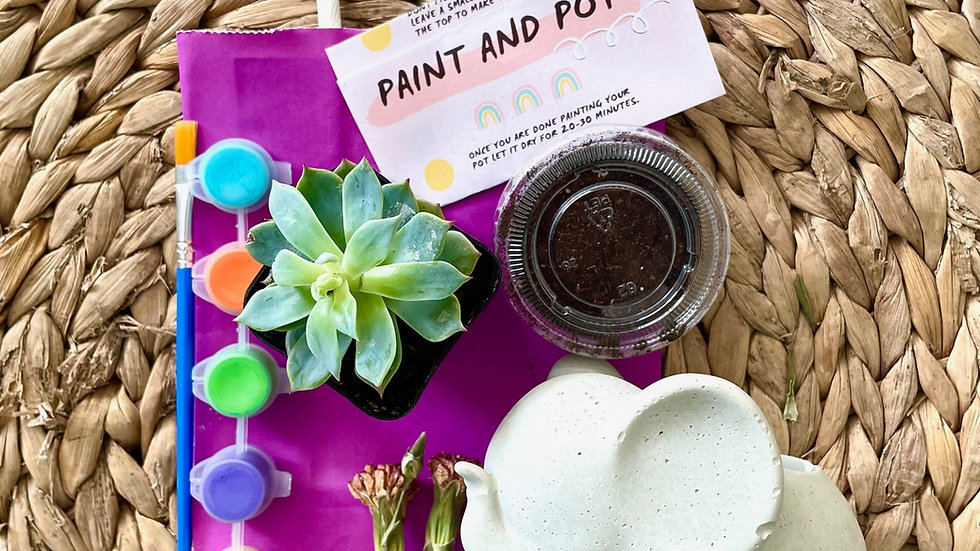 Private Paint and Pot
