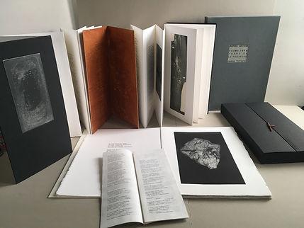 Bibliophilie contemporaine. Poème de la montagne, Poème de la fin. Édition 2021