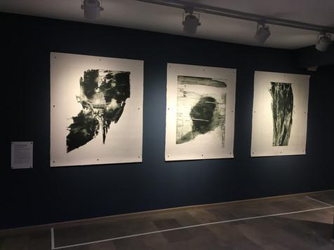 """Triptyque """"Souffle, Rêve, Ascension"""" , 2017"""