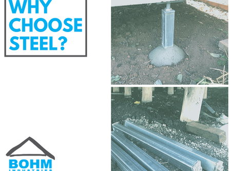 Why choose steel stumps?