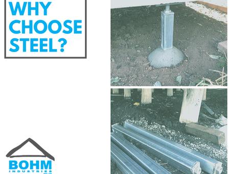 Why choose steel stumps?