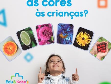 Como ensinar as cores às crianças?