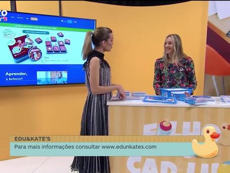 Edu&Kate's  no programa Filhos & Cadilhos do Porto Canal