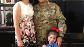Command Sgt. Maj. Jorge Grajeda is living his dream job at Fort Meade