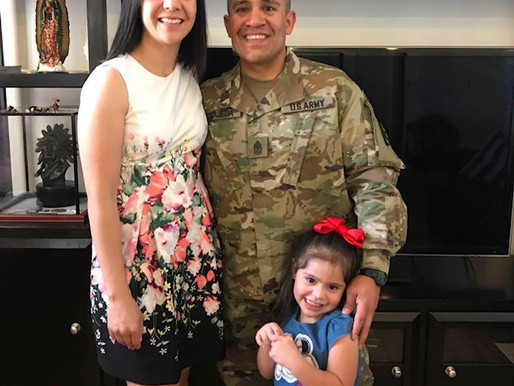 Command Sgt. Maj. Jorge Grajeda is living his dream job at Fort Meade