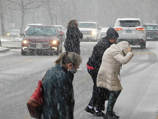 Snow-Rain slop slams Anne Arundel: MD issues road-freeze warning