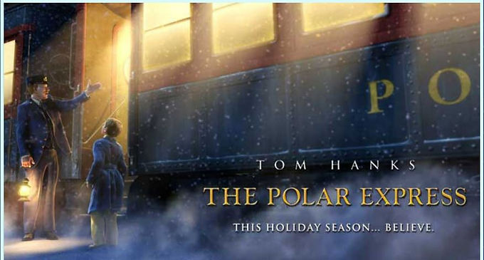 The Polar Express chugging into Annapolis in December