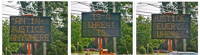 AAC Police: MLK road signs staying up for now