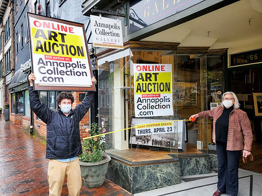 Ongoing online art auction is rescuing Annapolis art gallery