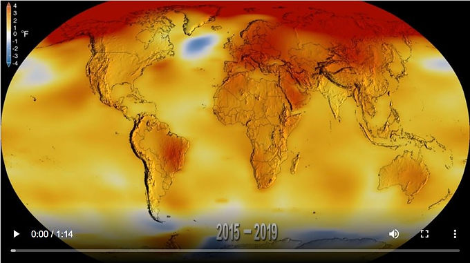 Maryland's Goddard: 2020 tied for Earth's warmest year
