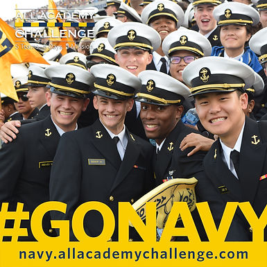 U.S. Naval Academy spreading the word about All Academy Challenge