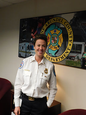 Anne Arundel County Fire Chief talks tenacity and tragedy after her first year on the job.