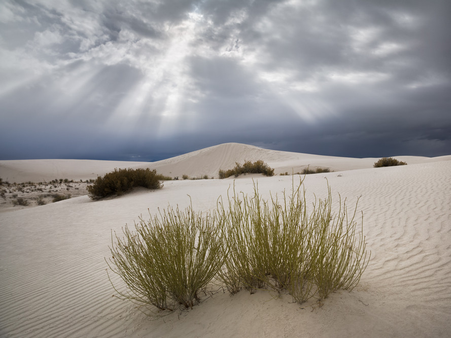 Storm Clouds over White Sands