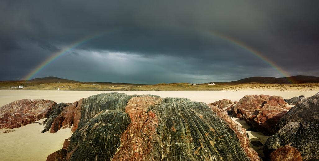 A Beach, A Storm and A Rainbow.jpg