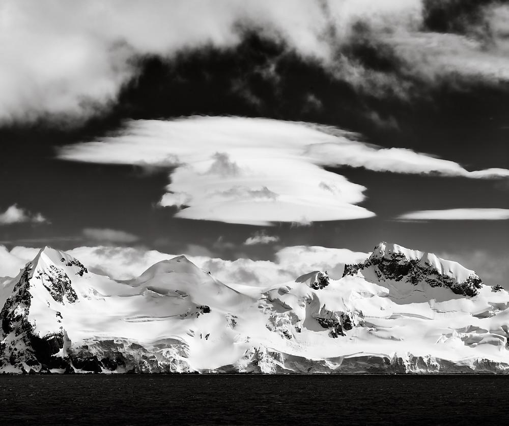 lenticular cloud over antarctica