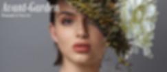 Beauty editorial featuring photographer Chris Tribelhorn