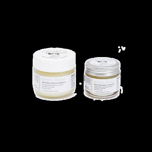 Desodorante cremoso Nuvem Herbal