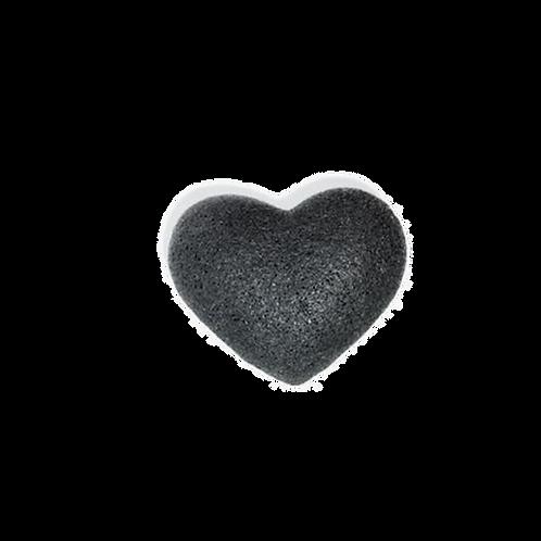 Esponja Konjac Carvão Preto