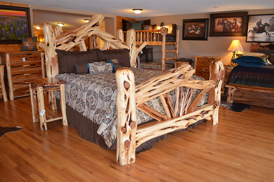 King Mountaintop Bed