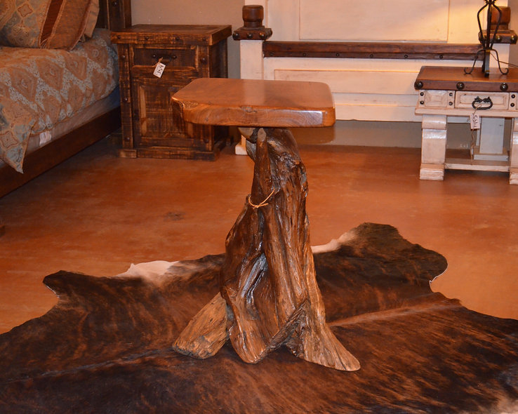 Teak Natural Accent Table