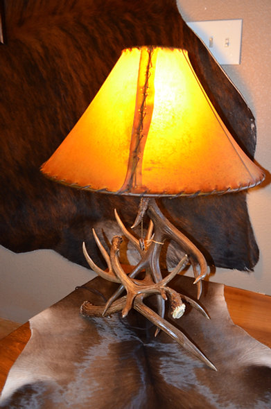 Genuine Antler Lamp