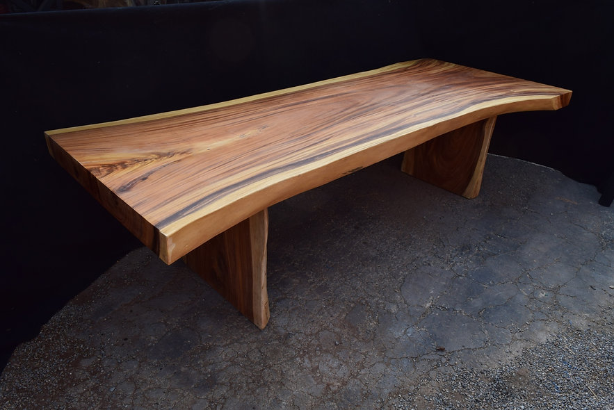 10' Acacia Dining Table