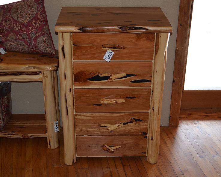 Cedar Standard 5 Drawer Dresser