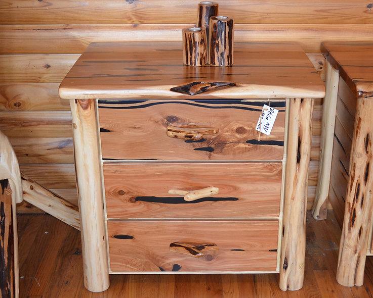 Cedar Standard 3 Drawer Dresser