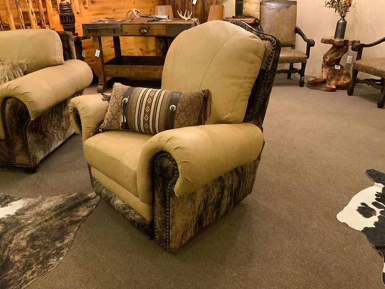 Genuine Leather Texas Recliner