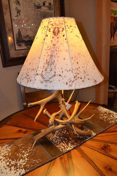 Genuine Antler Lamp