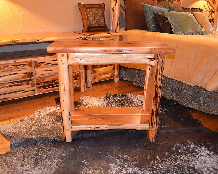 3' Cedar Sofa Table