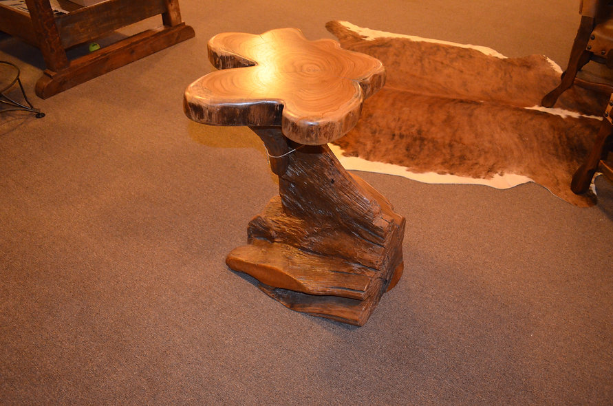 "30"" Teak End Table"