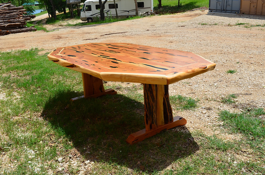 8' Cedar Dining Table