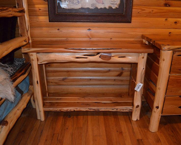 4' Cedar Sofa Table
