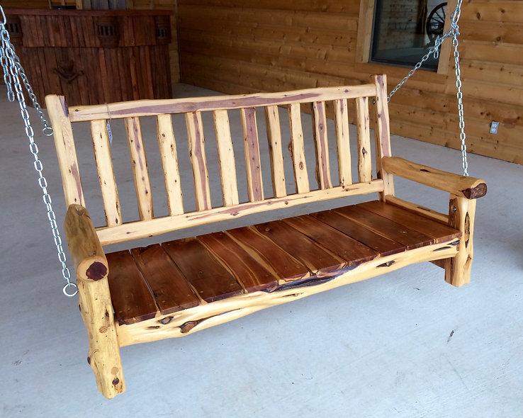 5' Cedar Swing