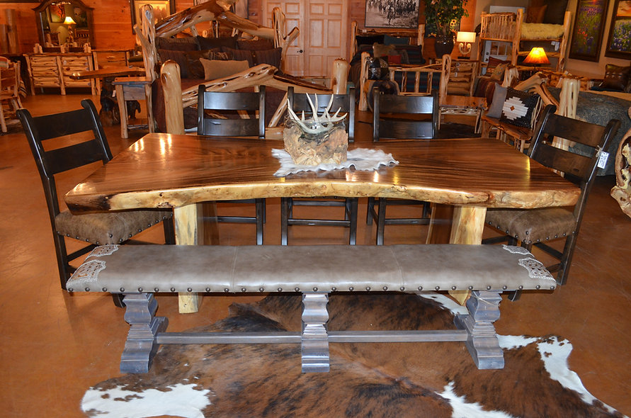 8' Acacia Dining Table