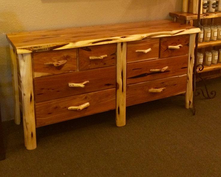 Cedar 8 Drawer Dresser