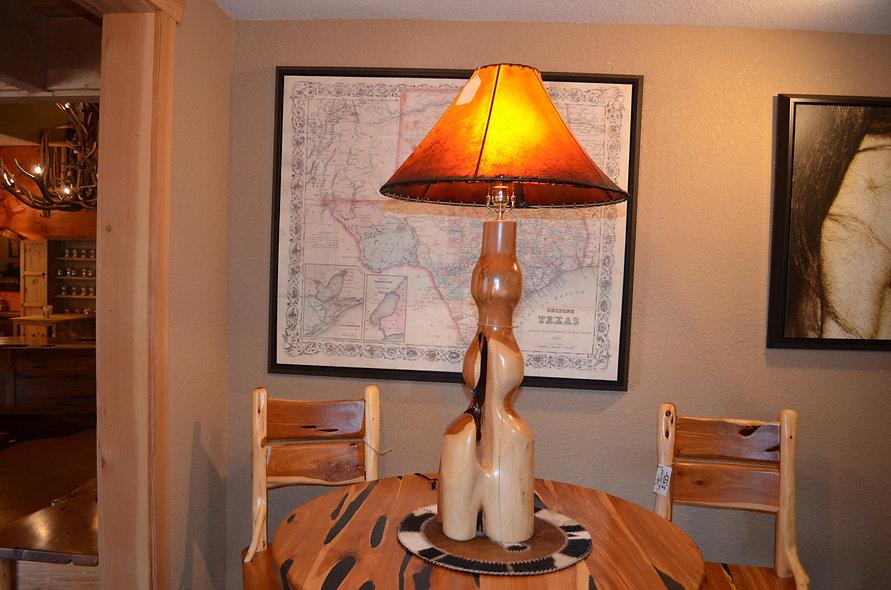 Cedar Lamp