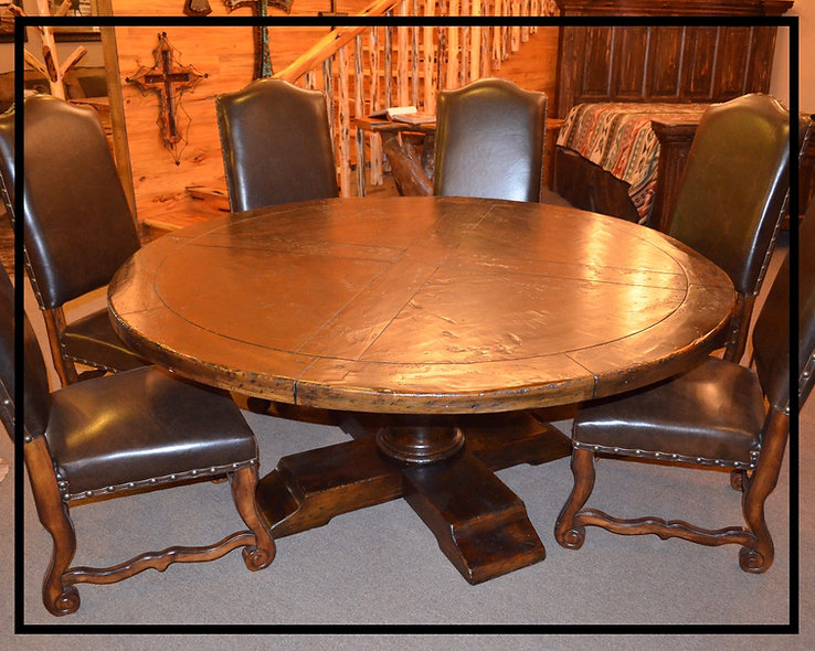 6' Round Dining Table