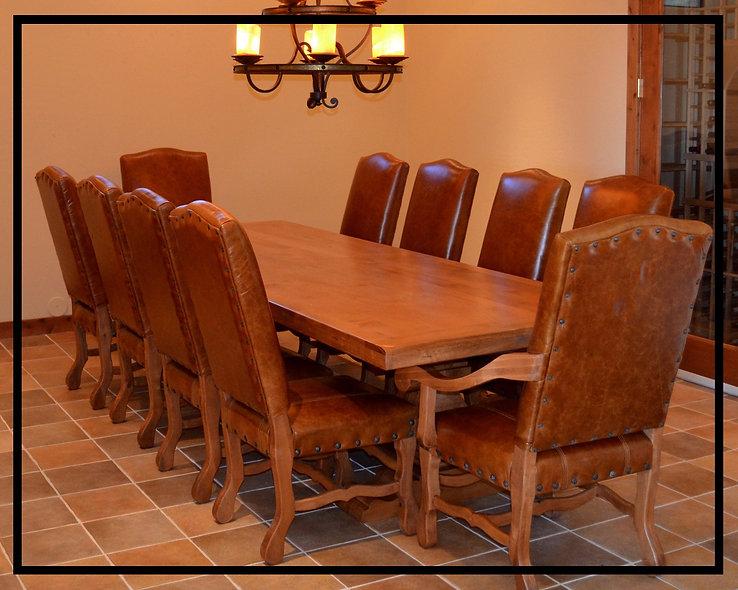 10' Alder Dining Table