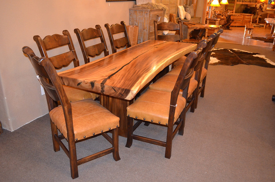 Monkey Wood Dining Table
