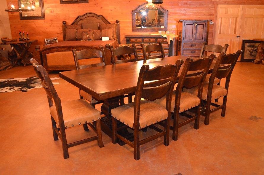 8' Alder Dining Table