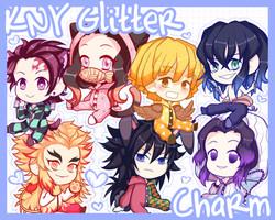 KNY Glitter Charms