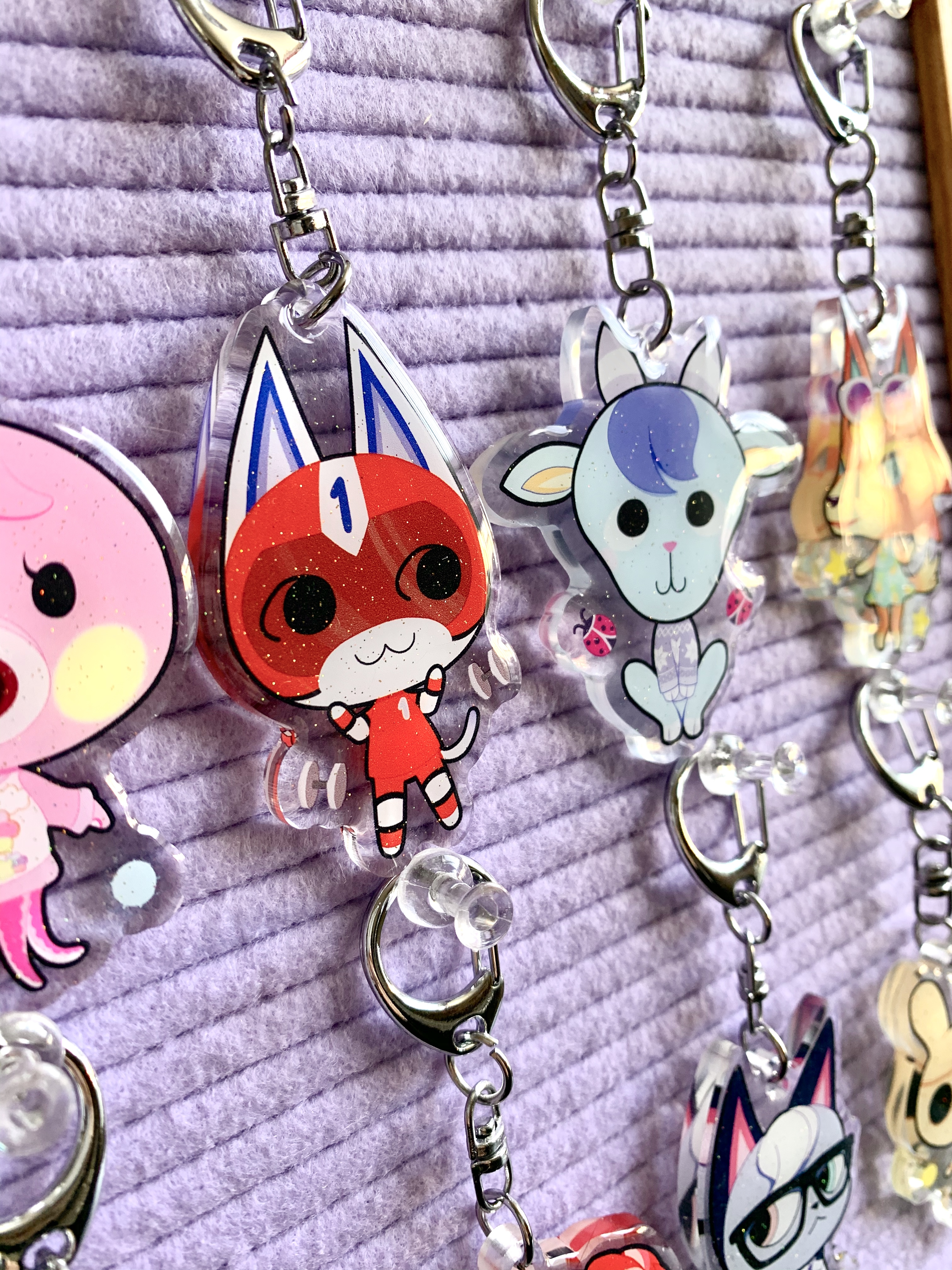 ANCH Glitter Charms