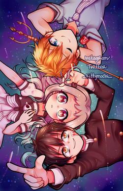 Hanako-kun Trio