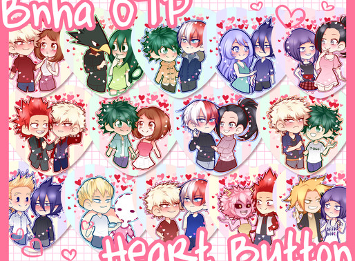 New BNHA OTP Buttons!