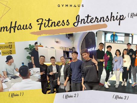 Học nghề HLV cá nhân với chương trình Thực tập sinh - Fitness internship GymHaus